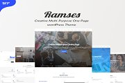 Ramses - Creative One Page Theme