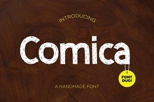 Comica ~ Font Duo