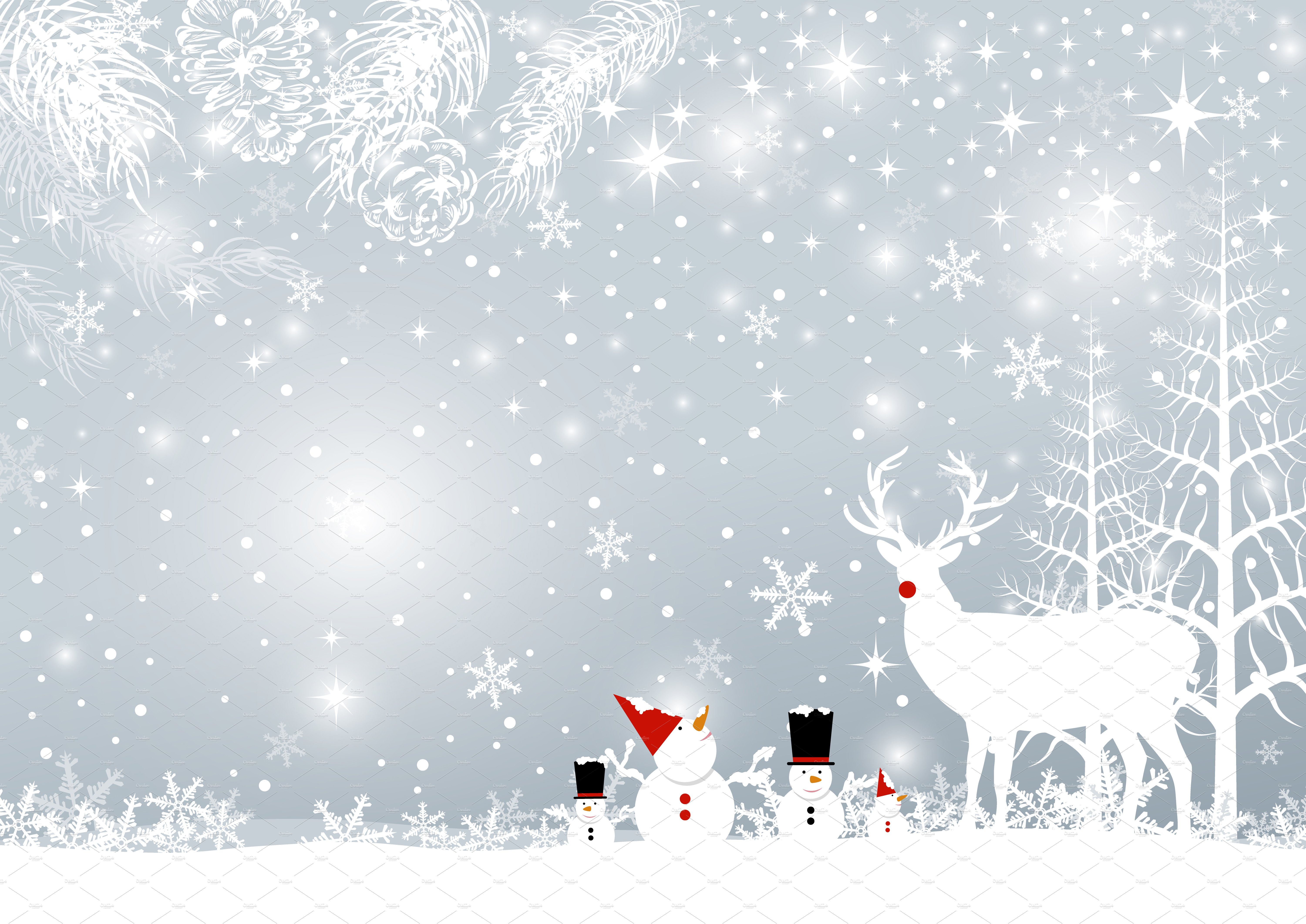 christmas back ground pictures christmas background design illustrations creative market 9964