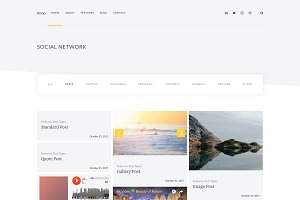 Koop - Multipurpose Theme and Social