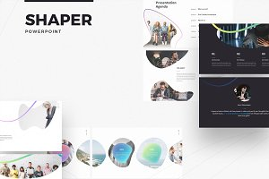 SHAPER powerpoint template