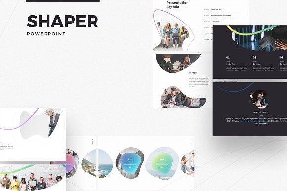 SHAPER Powerpoint Template