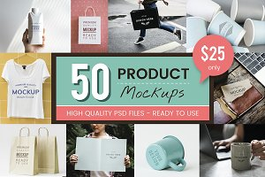 The Best Products Mockup Bundle