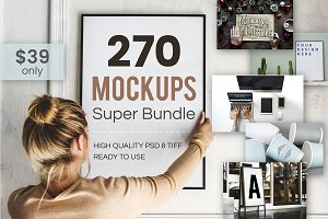 The Best Mockup Mega Bundle
