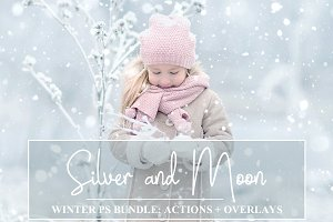 Winter Bundle: PS Actions + Overlays