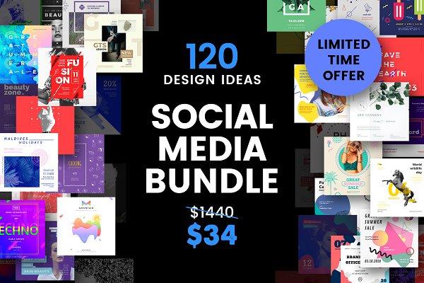 Social Media Templates Bundle