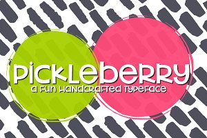NEW!! Pickleberry Font