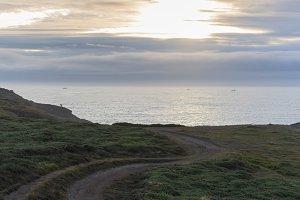 Coast of La Coruna.