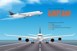 Sale! Airplane Realistic Set