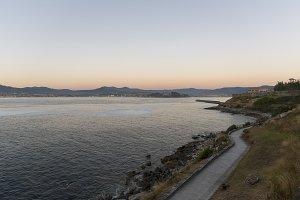 Coast of Baiona.