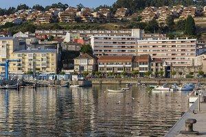 Port of Baiona.