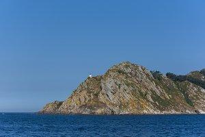 Lighthouse of Cies Islands.