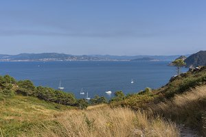 Coast of Cies Islands.
