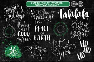 BUMPER Pack - Christmas Overlays