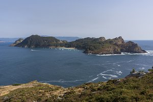 San Martino Island (Cies Islands).