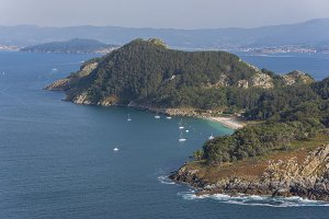 Coast of Cies Islands.