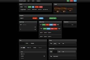 Bootstrap 3.0.  Black alt theme skin
