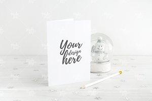 Christmas card mockup #0505