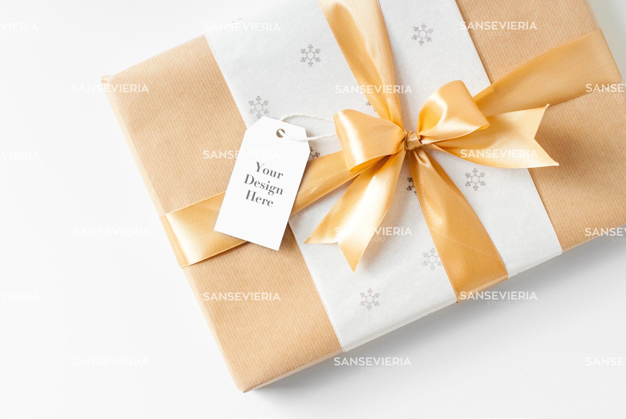 Gift Tag mock up - Christmas ~ Product Mockups ~ Creative Market