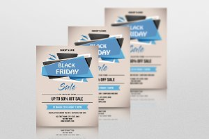 Black Friday Sale Flyer-V681
