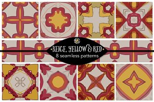 Set 80 - 8 Seamless Patterns