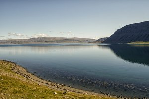 Lake in Iceland