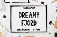 Dreamy Fjord-Scandinavian font
