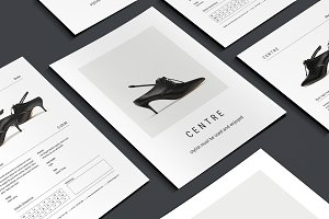 C E N T R E — Fashion Flyer