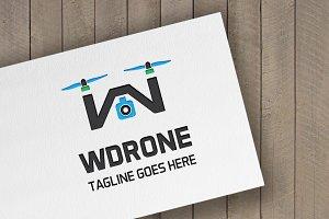 WDrone Letter W Logo