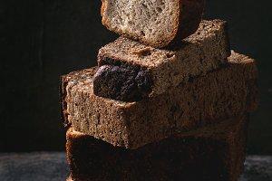 Variety of rye bread