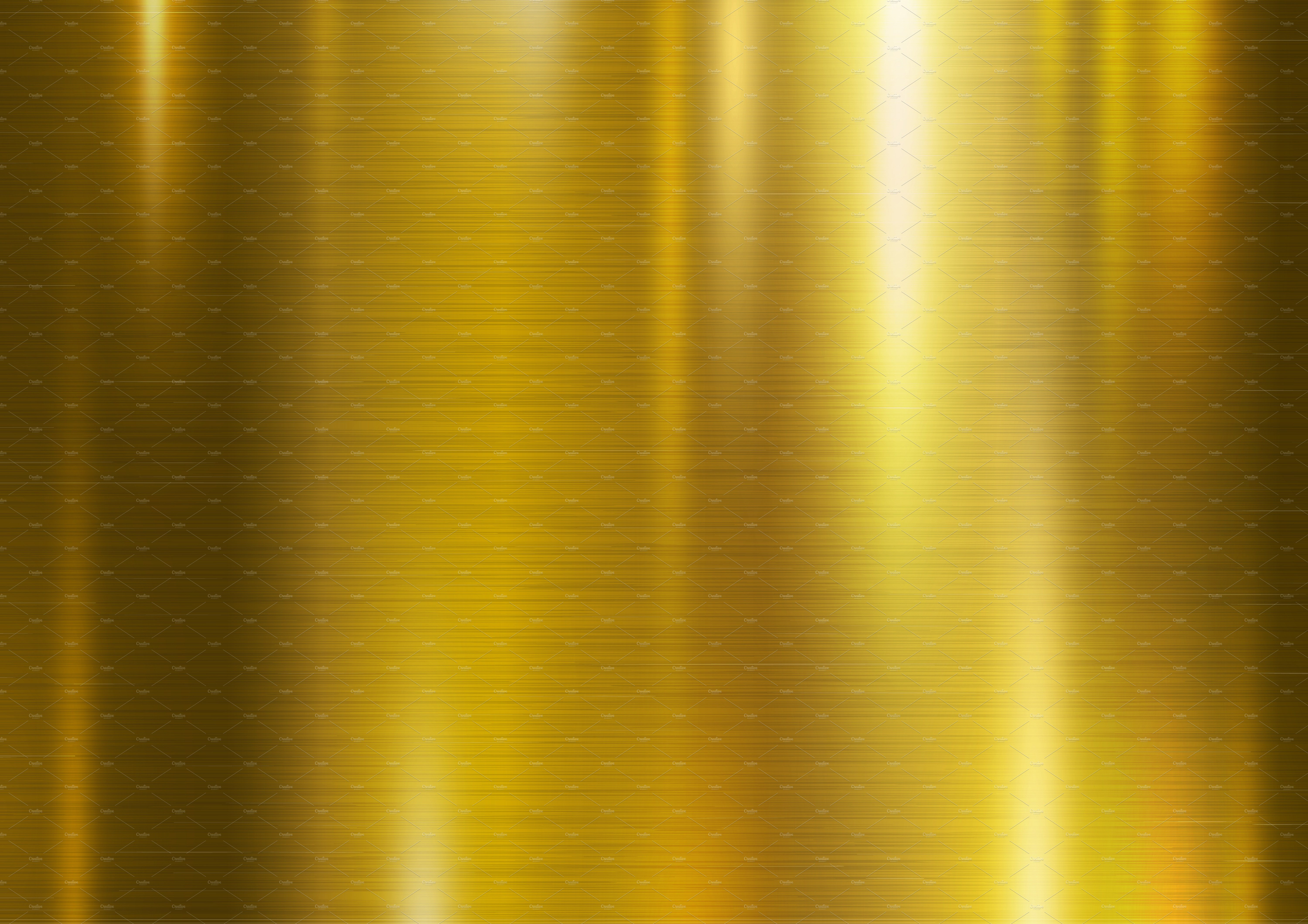 Gold metal texture background ~ Illustrations ~ Creative ...