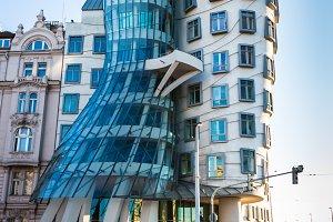 Dancing house in Prague,
