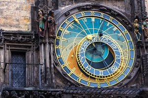 Old Astronomical Clock