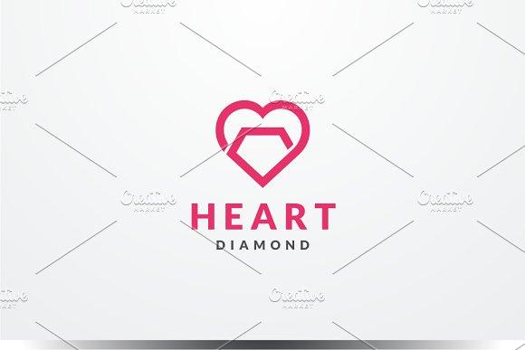 Heart Diamond Logo