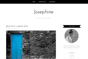 Wordpress Theme - Josephine