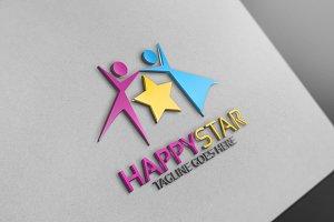 Happy Star Logo
