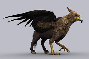 HIPPOGRIFF fbx only