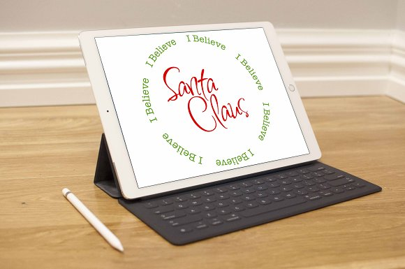 I Believe Santa Claus SVG in Illustrations - product preview 1