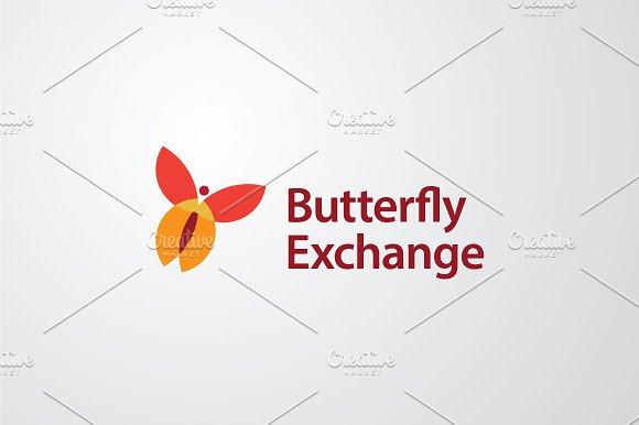 Butterfly Exchange | Vector Logo