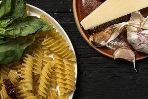 Italian pasta with parmesan cheese&#x3B;