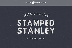 Stamped Stanley - Font