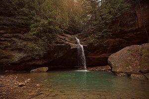 Waterfall & Mountain Pool