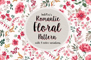 Romantic Floral Patterns