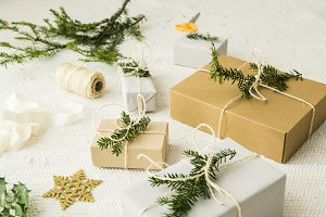 Christmas gifts with decoration II