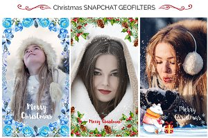 Christmas Snapchat Geofilters
