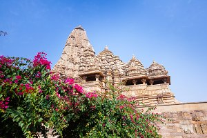The Khajuraho Group of Monuments.