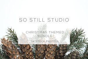 Christmas themed stock photo bundle