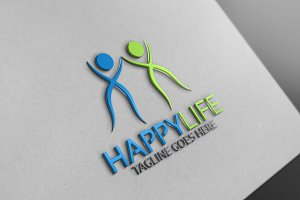 Happy Life Logo