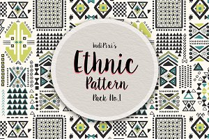 Ethnic Patterns Pack No.1