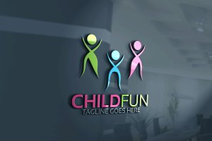 Child Fun Logo